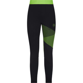 La Sportiva Radial Broek Heren, black/jasmine green